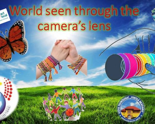 World seen through The camera's Lens